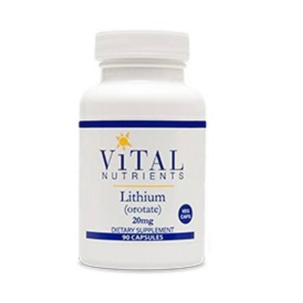 Organic lithium orotate