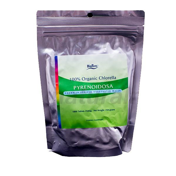 Chlorella Pyrenoidosa 200 Mg 1250 Tablets Mynaturalmd